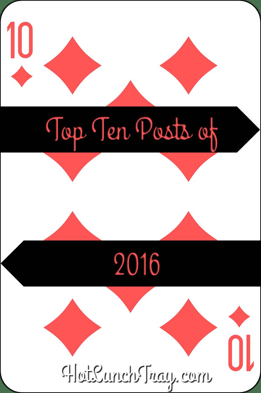 2016 Top Ten Posts