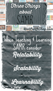Three Things about SAMR pin