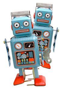 Robots in line