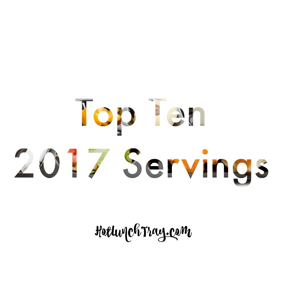 2017 Top Ten Servings