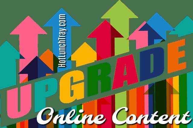 upgrade online content