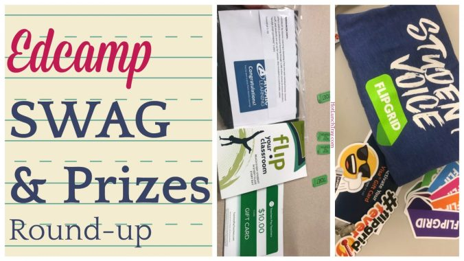 Edcamp Swag and Prizes Roundup