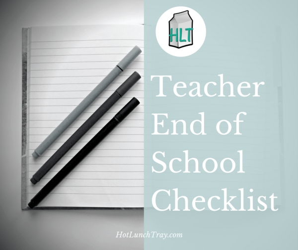 EOY Teacher Checklist