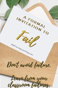 Invitation to Fail PIN