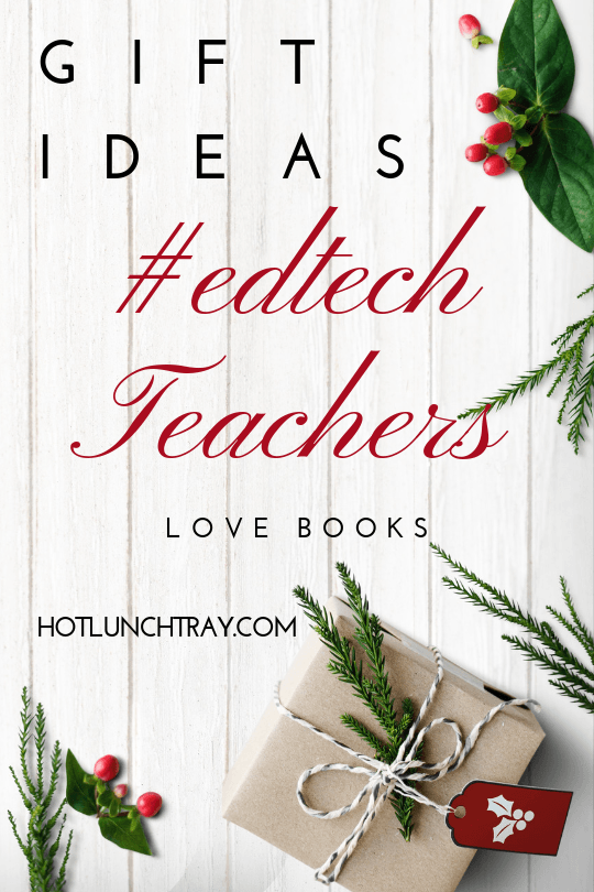 #edtech Teachers love books