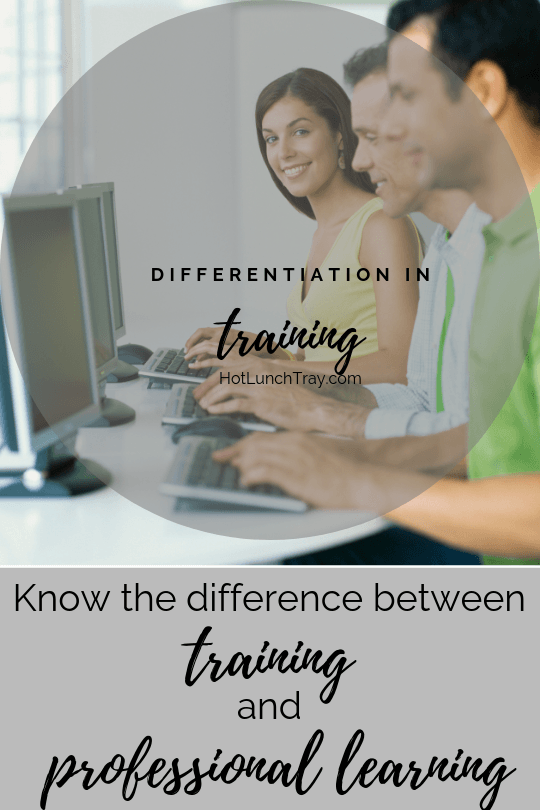 Differentiation in Training PIN