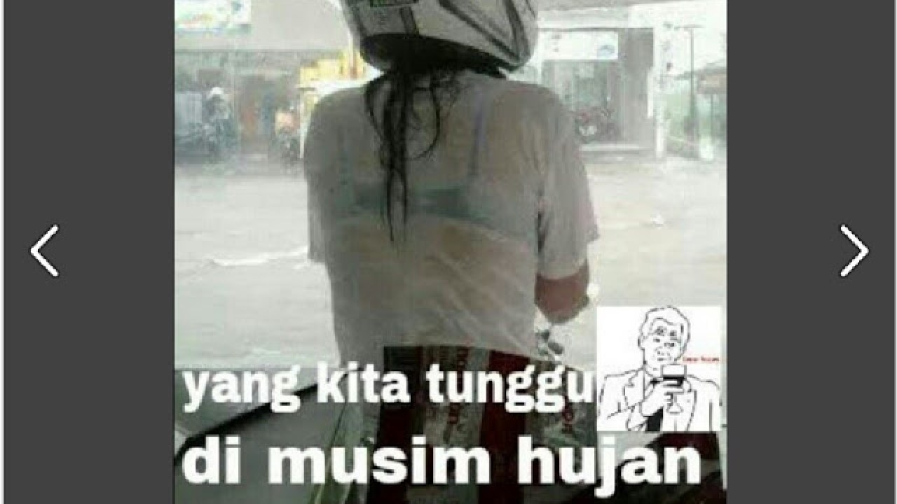 Harus Lihat Nih 20 Meme Lucu Pada Saat Hujan Ini Bikin