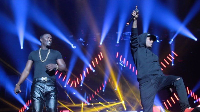 VIDEO: AKon X WIzkid Live at Dance Afrique Summer fest