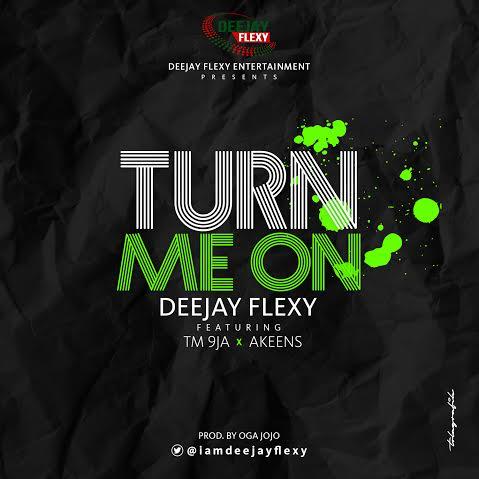 DJ Flexy Ft TM9ja x Akeens - Turn Me On Artwork