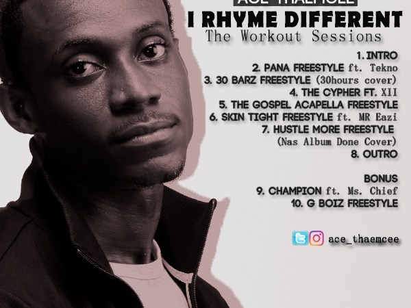 Ace ThaEmcee – I Rhyme Different: The Workout Session