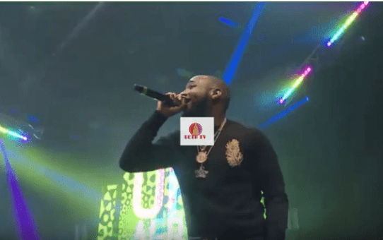 Davido Performance At One Africa Music Fest Dubai