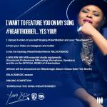 Win Studio Equipment and a feature on Yemi Alade's Heart Robber Remix
