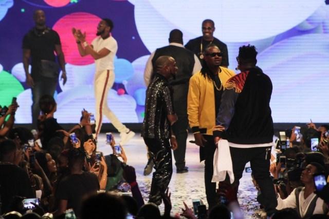 D'banj, Don Jazzy, Wande Coal and Mo'Hits Perform At Davido's 30 Billion Concert
