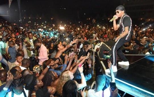 Wizkid Full Performance In Uganda