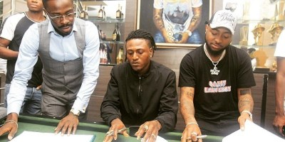 Davido Signs Idowest to Davido Music Worldwide