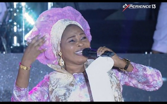 Tope Alabi Performance At The Experience 2018