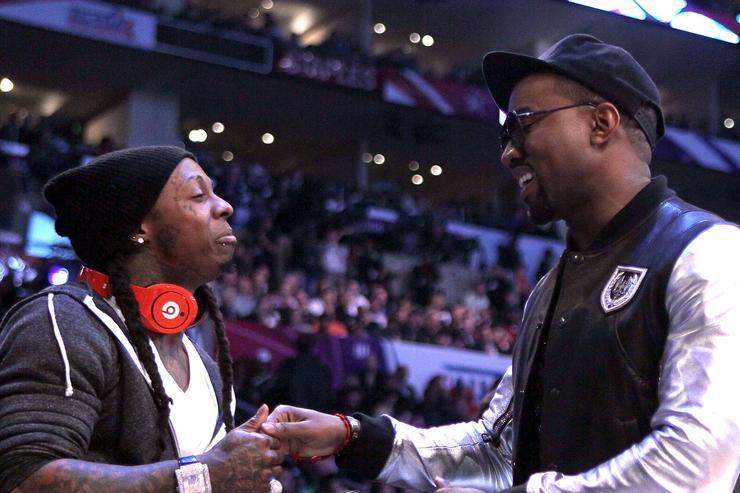 Kanye West Crashes Lil Wayne's Nightclub Gig In Miami