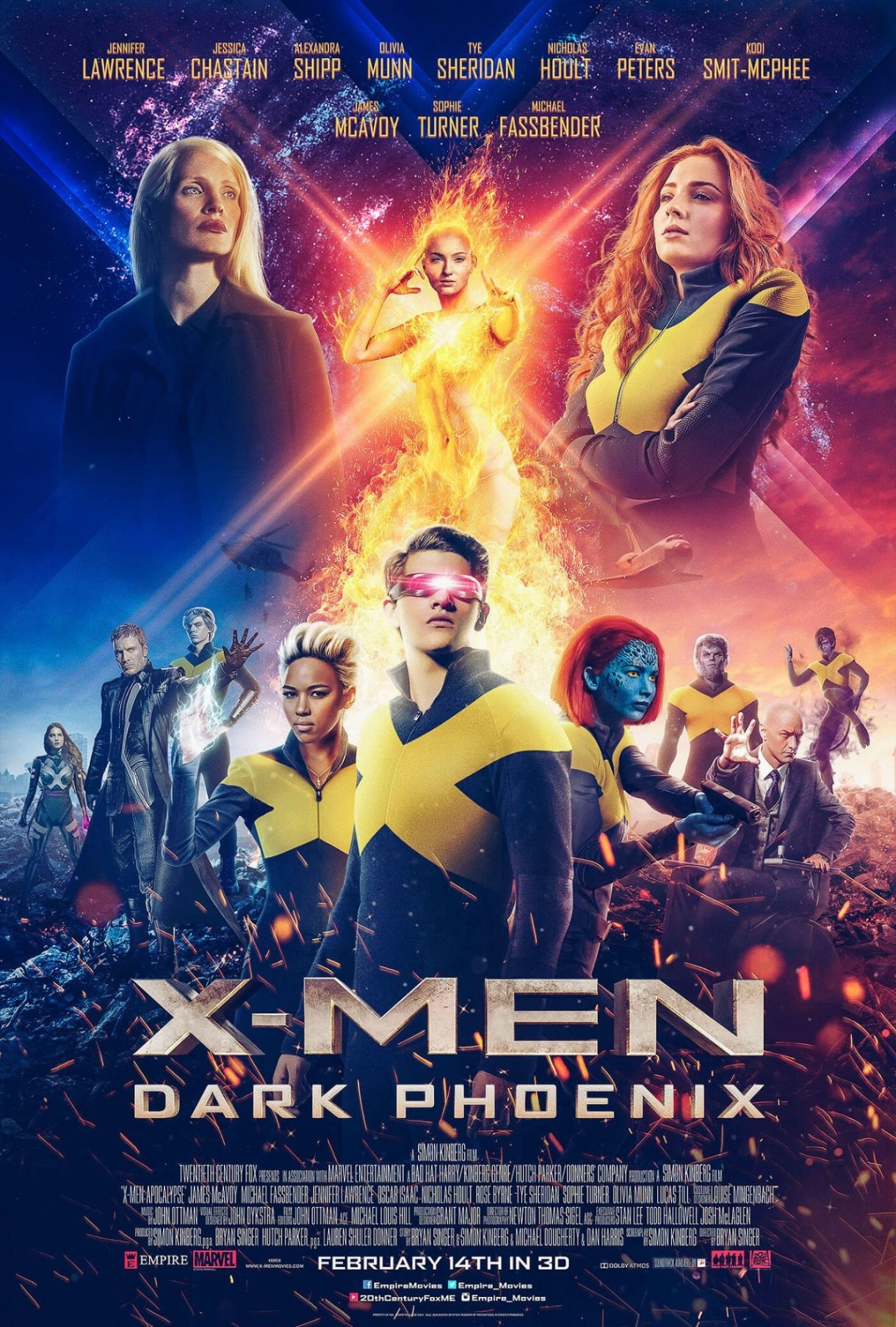 X-MEN: Dark Phoenix Movie Official Trailer