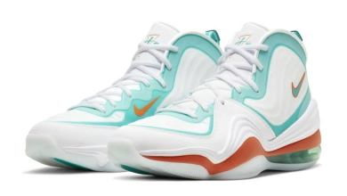 "Photo of Nike Air Penny 5 ""Alternate Dolphins"": View Photos"