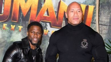 "Photo of Kevin Hart Disses Dwayne ""The Rock"" Johnson: Video"