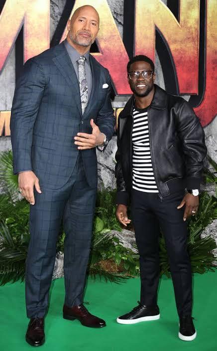 "Kevin Hart Disses Dwayne ""The Rock"" Johnson"