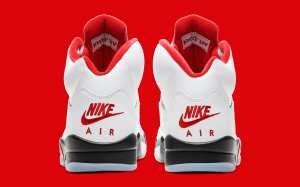 """Air Jordan 5 """"Fire Red"""" Available For Purchase"""