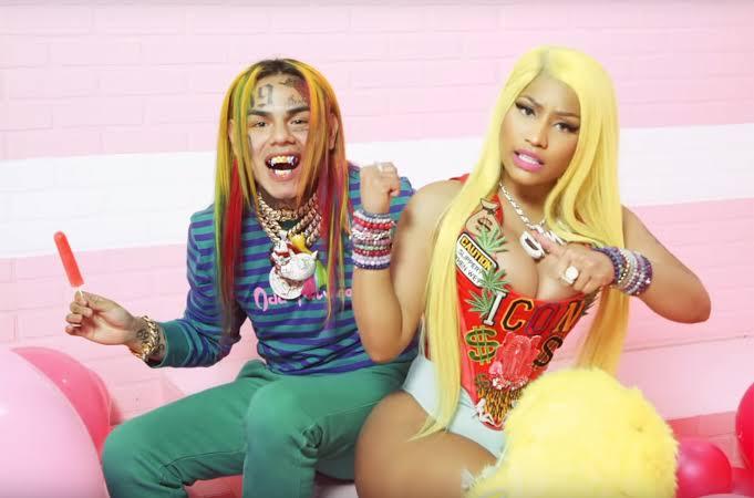 6ix9ine features Nicki Minaj for New Single