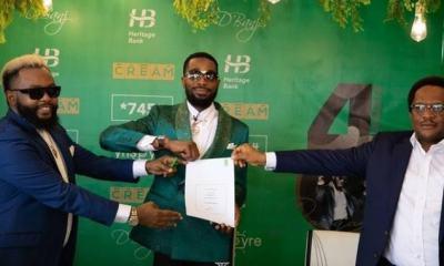 D'Banj's endorsement deal with Heritage Bank