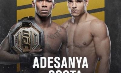 Watch: Israel Adesanya VS Paulo Costa UFC 253 highlights