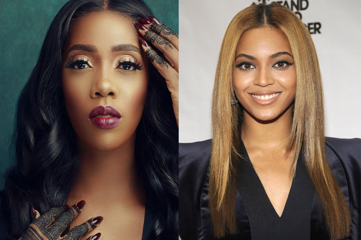 Tiwa Savage Begs Beyonce To Support #EndSARs Movement In Nigeria