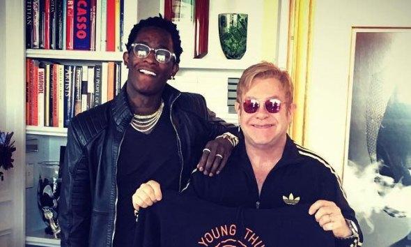 Young Thug Teases New Song Feat. Gunna & Elton John