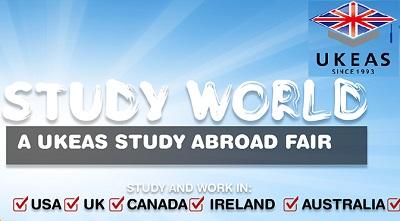 Study and Work in the USA, UK, Canada, Ireland, Australia - Study World - A UKEAS Study Abroad Fair
