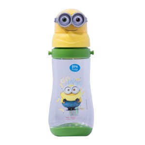 Minion Water Cup with Straw