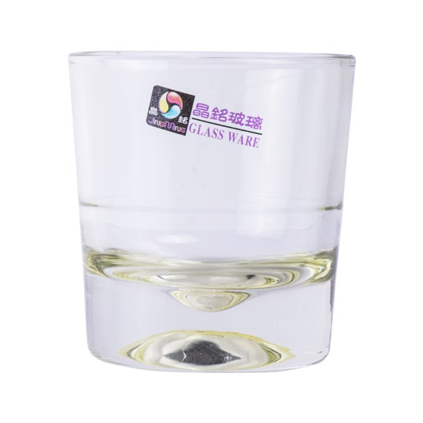 Plain Glass Drink Cup