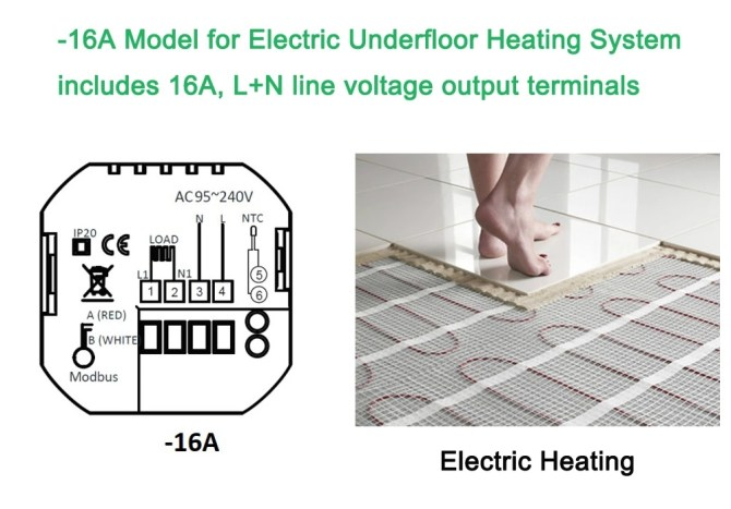 china manufacturer room electric underfloor heating