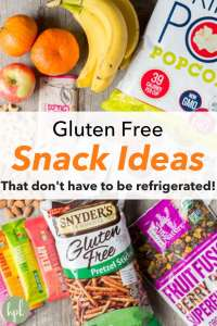 pin for gluten free snack ideas