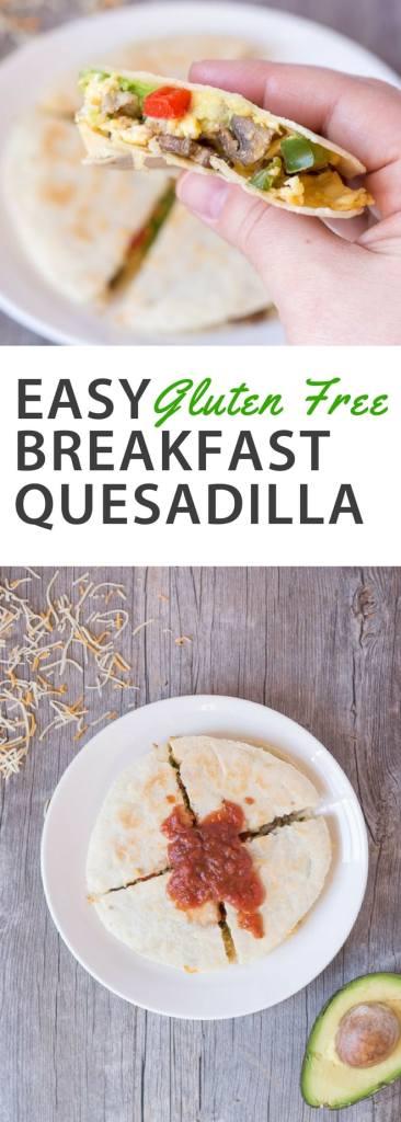 Pinterest Easy Gluten Free Breakfast Quesadilla