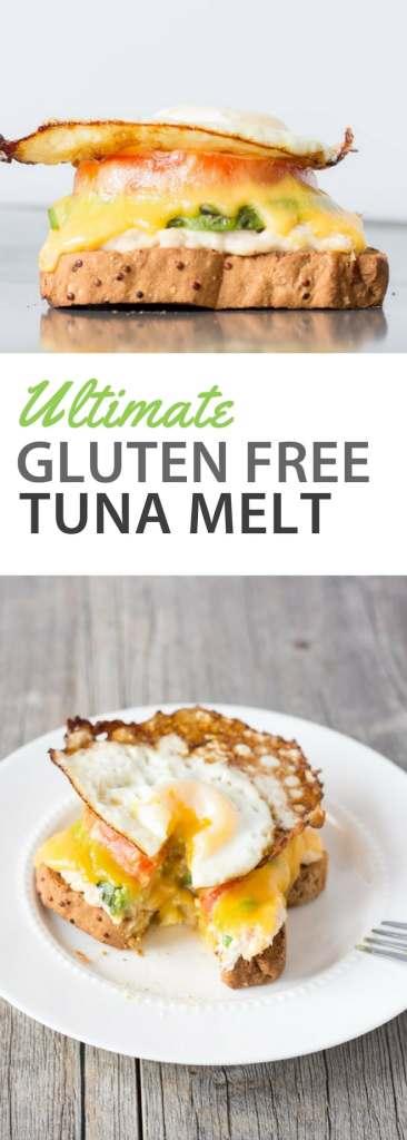 pinterest ultimate gluten free tuna melt