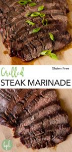 pin for grilled steak marinade