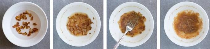 date paste process shots