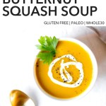 pin for curried butternut squash soup