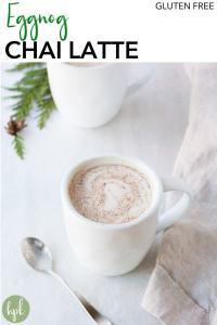 pin for eggnog chai latte