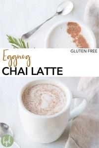 pin for chai eggnog latte