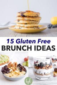pin for gluten free brunch ideas