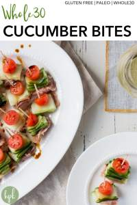 pin for whole30 cucumber snacks