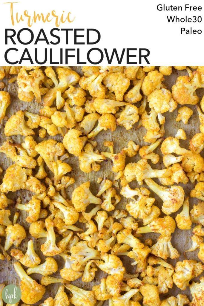 pin for turmeric roasted cauliflower