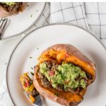 pin for mexican stuffed sweet potatoes