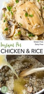pin for instant pot chicken rice