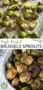 pin for maple roasted brussels sprouts