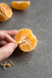 removing strings from orange
